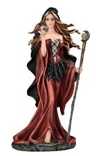 "10.5"" Witch w/ Wand  Halloween Figure Statue Figurine Fantasy Gothic Decor"