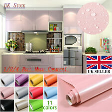 1/2/4  Roll Kitchen Cupboard Door Drawer Liner Cover Self  Adhesive Wall Sticker