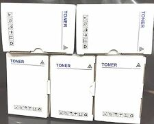 5 x CT202330 Generic BLACK HY 2.6K Toner for Fuji Xerox P225d/P265dw/M225dw