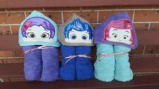 Hooded Towels Bubble Guppies Kids Beach Bath Cartoon