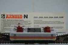 Arnold N Gauge 82324 DB Electric Locomotive BR 141 441-6 Boxed
