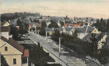 Auburn Street Scene from Neal GRASS VALLEY, CA Hand-Colored Postcard 1910