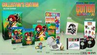 Cotton Reboot! COLLECTOR'S EDITION PS4 Playstation 4 + Art Book Soundtrack CD EU
