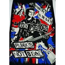 SEX PISTOLS PUNK ROCK TEXTILE FLAG POSTER 100X150CM UK SELLER