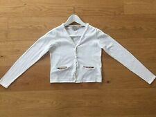 f3382490109f40 Burberry Kids Mädchen Strickjacke in Weiss Grösse 150 für 12 Jahre Cotton /  Silk