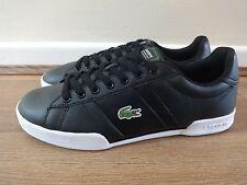 Lacoste Sport Deston HTB Entrenadores Zapatos Tenis Negro UK 8 EU 42 nos 9