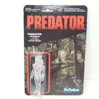 "Authentic FUNKO Predator Invisible 3 3/4"" ReAction Figure - Sealed - NEW (2013)"