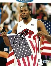 KEVIN DURANT signed autographed TEAM USA 8X10 photo NETS w/ COA BECKETT BAS