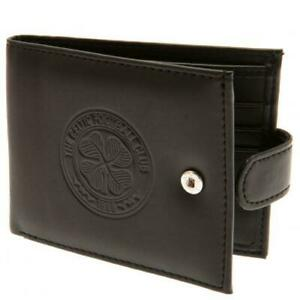 Celtic FC RFID Anti Fraud Leather Wallet Card Slots Official Merchandise