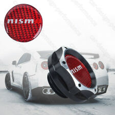 NISMO Black 2 Tones Engine Oil Filler Cap Oil Tank Cover Aluminium For Nissan