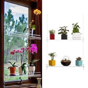 Window Plant Shelf Hanging Shelf Plant Shelves Plant Stand Indoor Garden Decor