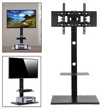 "Floor Tv Stand Base with Audio Shelves for 32-65"" Tv Bedroom Living Room Corner"