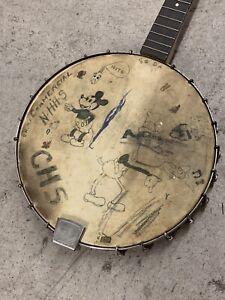 Antique Vintage Bango Senior Art Mickey Yale Mouse