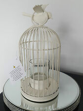 Package of 8 Ivory Shabby Chic Tealight Birdcages Wedding Centre Piece Bird Cage
