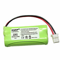 4 Pack Replacement for RadioShack 43-1107 Battery Compatible with RadioShack Cordless Phone Battery 1200mAh 3.6V NI-MH