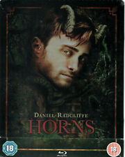 HORNS - Limited Edition Steelbook - Blu Ray Disc - Danial Radcliffe -