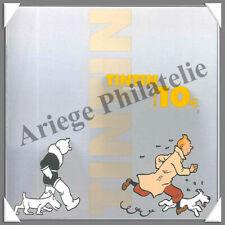 BELGIQUE - Année 2004 - Coffret BU - TINTIN - 10 € Argent