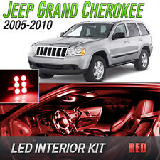 2005-2010 Jeep Grand Cherokee Red LED Lights Interior Kit