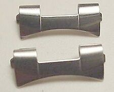 New Rolex 'Oyster/Submariner' (President) Link SS Band Ends-Free Ship!