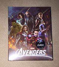 NOVAMEDIA | THE AVENGERS LENTICULAR | Blu-ray Steelbook | 533/2000  |READ Marvel