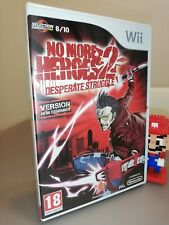 No More Heroes 2 Nintendo Wii Pal French version New sealed nuovo sigillato