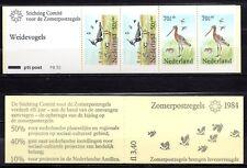 Netherlands - 1984 Summer welfare / Birds -  NVPH PB30 booklet  MNH