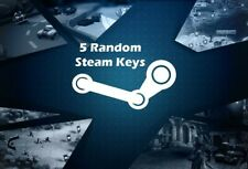 5 x Random Steam CD Key - REGION FREE