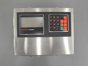Mettler Toledo Masstron 8141 Digital Platform Scale Indicator Controller (25012)