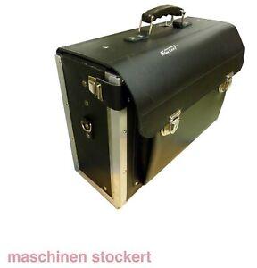 Leder-Werkzeugtasche, Werkzeugkoffer, Koffer aus Rinderleder, Made in Germany