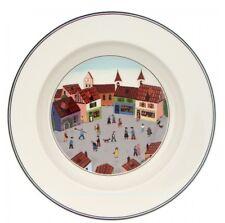 Design Naif, Piatto Fondo 21cm Villaggio, Porcellana, Villeroy & Boch