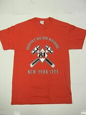 Support LOCAL 81 Hammers BIG RED MACHINE Hells Angels NYC New York T Shirt LARGE