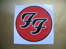 FOO FIGHTERS car bumper sticker Stickerbomb bomb decal Electric Guitar Bass Etc