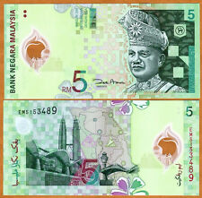 Malaysia, 5 Ringgit, ND (2004), P-47, UNC > First Polymer