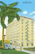 Brownsville,TX. The El Jardin Hotel in the Land of Manana