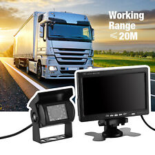 RV Truck Bus Wireless Rear View Backup Camera Night Vision System+7