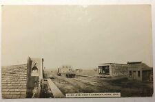 SWIFT CURRENT SASKATCHEWAN 1905 RPPC REAL PHOTO POSTCARD Early Town
