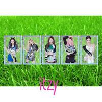 Kpop ITZY HD Collective Card Ryujin Yeji Photocard IT'z ICY PVC Clear Photo Card
