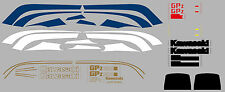 Dekorsatz Decals Kawasaki GPZ 1100 UT (Unitrak) ELR limegreen