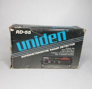 Vintage 1983 Uniden Superheterodyne Radar Detector UNTESTED