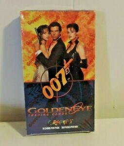 007 GoldenEye trading cards unopened box Graffiti James Bond