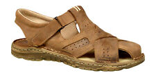 Men Footwear Orthopedic Form Natural Buffalo Leather Sandals Shoes UK Size 6-11