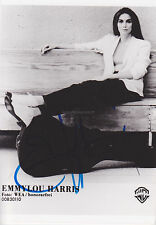 Emmylou Harris HAND Signed photo Photo Autograph, Country, Together Again