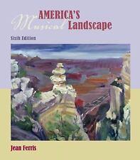 America's Musical Landscape, Jean Ferris, Good Condition, Book
