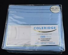 Coloridge 1800 Egyptian Series Supreme Sheet Set, King/Cal King, Free Shipping