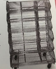 6 Tier Waterfall Wire Racks