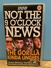 BBC Not The 9 O'Clock News The Gorilla Kinda Lingers VHS