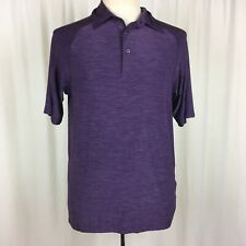 Audi North End Men's Small Golf Polo Shirt Purple Short Sleeve