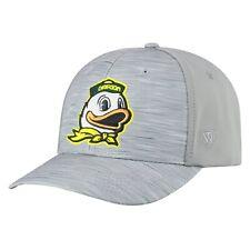 """Oregon Ducks TOW Gray """"Hyper"""" Memory Fit Hat Cap"""