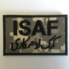 Afghanistan ISAF USA Military Army Tactical Morale Badge Sticker Cap Hat Patch