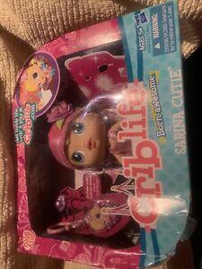 New Hasbro Baby Alive Crib Life Doll - SARINA CUTIE - Retired HTF - Damaged Box
